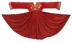 antik Afghanistan Kuchi Nomaden Kleid antique Woman nomadic embroidered Dress 35