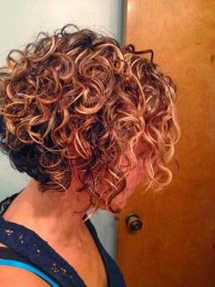Curly inverted bob                                                                                                                                                     More