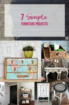 7 Simple Furniture Projects