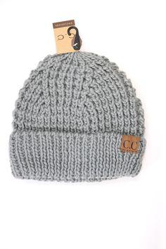 CC Cable Knit Beanie Cc Beanie b045b1841844