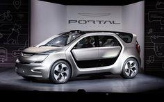 Chrysler Portal Concept CES, 2017 cars, minivan, electric cars