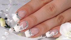 #trendstyle   #trends   #white   #flower   #nails   In dieser Modesaison wird es romantisch und glamourös. Weiß mit niedlichen Blüten verziert neben Kleidung und Accessoires auch unsere Fingernägel. Wie schnell Du so ein wunderschönes Design gestalten kannst, siehst Du in diesem Video. Hier findest Du alle verwendeten Produkte: http://www.prettynailshop24.de/shop/trendstyle-weiss-mit-blueten-video_714.html#Produkte?utm_source=ointerest&utm_medium=referrer&utm_campaign=pi_trendstyle3515