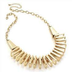 Choker / Collar Fashion Necklace Gold