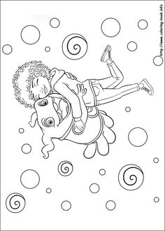 Home coloring picture