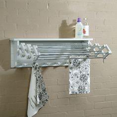 Extending Clothes Dryer - Chalk