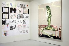 Rose Wylie - Wear What You Like at Transition Gallery, London | Flickr - Photo Sharing!