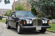 1981 Rolls-Royce Corniche Convertible black with black interior. It has 65K original miles. This is an excellent original car for only $37,500.