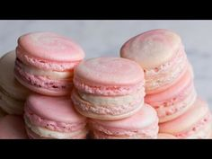 Strawberry Cheesecake Macarons - http://www.wahmmo.com/strawberry-cheesecake-macarons/ - - WAHMMO