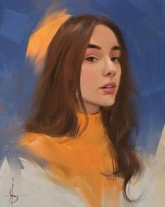 Digital Painting Tutorials, Digital Art Tutorial, Art Tutorials, Digital Portrait, Portrait Art, Painting Portraits, Digital Art Beginner, Ipad Art, Art Drawings Sketches