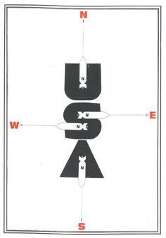 Cold War Soviet Poster
