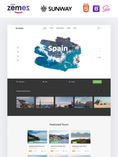 Previous Next View on Template Monster Business Website Templates, Adventure Tours, Layouts, Web Design, Design Web, Adventure Trips, Site Design, Website Designs