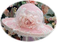 Rose Vineyard Tea hat