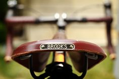 going on a bike ride today! #brooks style.