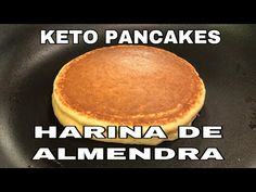 The Only Keto Pancake-Rezept Ich ben tige Low Carb Keto, Low Carb Recipes, Healthy Recipes, Cake Mix Recipes, Snack Recipes, Breakfast Recipes, Pain Keto, Comida Keto, Veggie Dinner