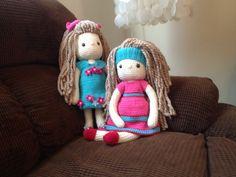 My Crochet Doll, Amigurumi Doll, Crochet Doll, The Twins - Hayley & Sam