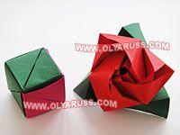 оригами динамичные игрушки
