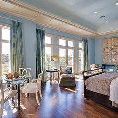 I like the windows...  Bedrooms