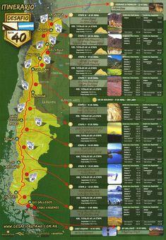 Ruta 40, Argentina , 6.000 kilómetros por el legendario camino que atraviesa todo el país por el Oeste , recorriendo once provincias . Increibles paisajes . ..