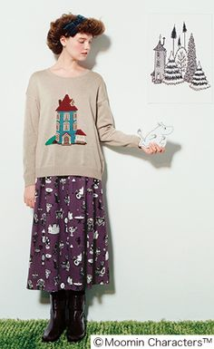 nice skirt | moomin
