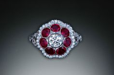 Loving this Michael Schofield Ruby Ring Diamond Rings, Diamond Jewelry, Michael Schofield, Favorite Color, Heart Ring, Cuff Bracelets, Fancy, Red, Sparkles