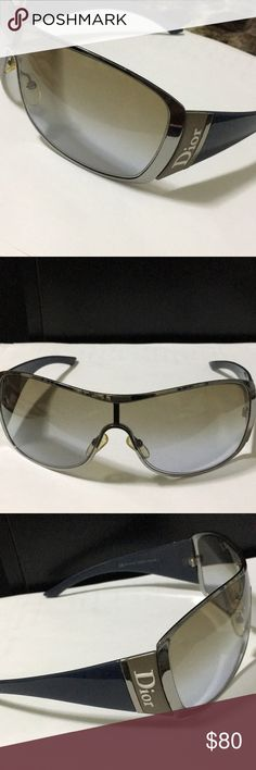 Mens Christian Dior Sunglasses Christian Dior Sub Dior 2 DTJJN. Ruthenium blugy, brown violet  Made in Italy and is unisex. Used but in new condition, does not come with original case but an alternative case will be provided.  Grab yourself a bargain! Christian Dior Accessories Sunglasses