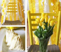 yellow lemonade sunshine party!