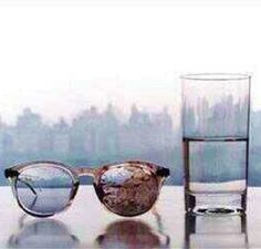 John Lennons Glasses After Being Killed In 1980
