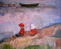 Edvard Munch - Two Children on the Beach
