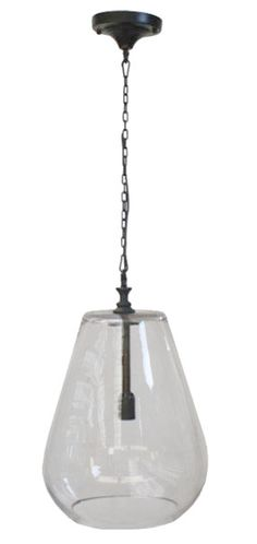 Villa Large Glass Shade Pendant Our Vintage Pendants are crafted to live up to the quality and durability of original pieces. With a beautiful patina on the brass base & chain and classic glass shade each fixture is a work of art. $323.00 + Free Nationwide Shipping