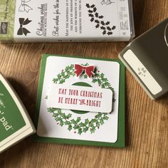 The new Stampin' Up Autumn/Winter catalogue is out! I've really enjoyed having a good look through this seasonal catalogue and choosing my designs for this years Christmas cards, tags a…