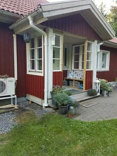Älvsbyhus sleipner inglasad veranda
