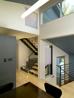 Contemporary Spaces Split Level Design, Pictures, Remodel, Decor and Ideas