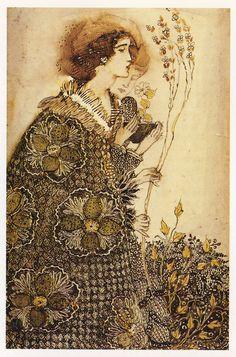Annie French (1872-1965). Woman and boy. [Glasgow School of Art]