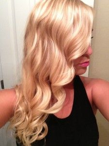 Dimensional platinum blonde also considering for fall
