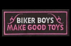 $4.95 We just love our guys! #Biker #Pink