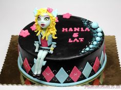Lagoona Blue Monster High Birthday Party Cake