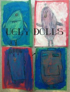 Mrs. Knights Smartest Artists: Uglydoll toy design, K
