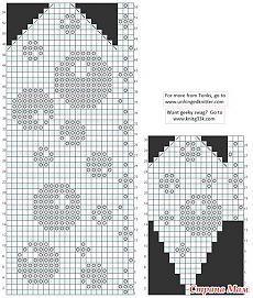 Bilderesultat for fair isle knitting patterns free Knitted Mittens Pattern, Fair Isle Knitting Patterns, Knitting Charts, Knit Mittens, Cross Stitch Tree, Cross Stitch Patterns, Fair Isle Chart, Baby Hats Knitting, Tapestry Crochet