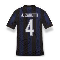 2013 14 Inter Milan Home Shirt J. Football Kits, Sport Football, Milan, Sport Online, Kids Boots, 4 Kids, Nike, Collection, Sports