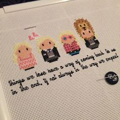 Anjalji - stitches: And another finish this month. Luna Lovegood outfi...