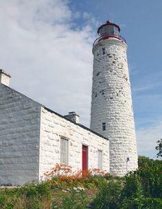 Chantry Island Lighthouse, Ontario Canada at Lighthousefriends.com