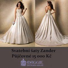 Svatební šaty Zander  #svatebnisaty #svatba #svatby #svatebnisalon #svatebnistudio #saty #MaggieSottero #nevesta #satypronevestu