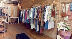Vintage clothing at Portia & Manny  151 Ludlow Street, NYC