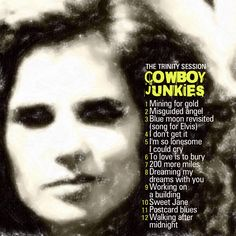 COWBOY JUNKIES - The trinity sessions CD COVER