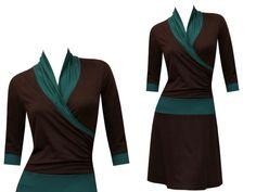 Entdecke lässige und festliche Kleider: Kleid Yara - viele Farben made by ungiko via DaWanda.com