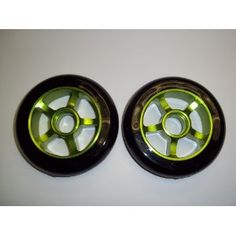 Metal Core Scooter Wheels 100mm BLACK and GREEN Heavy Duty RAZOR Set with Bearings (Misc.)  http://flavoredwaterrecipes.com/amazonimage.php?p=B00759Q0ZI  B00759Q0ZI