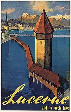 Luzern / Lucerne Landolt 1936