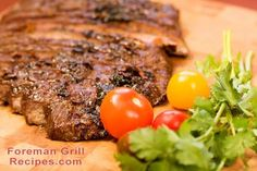 Our favorite flank steak recipe is so easy and kids even love it! Can't get outside to grill it? Cook your flank steak in a grill pan or cast iron. Skirt Steak Recipes, Grilled Steak Recipes, Grilling Recipes, Beef Recipes, Cooking Recipes, Recipies, Grilled Meat, Healthy Recipes, Jerky Recipes