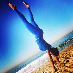 Adho Mukha Vrksasana . #handstand #inversion <3 tiffanysavion.com  tiffany savion