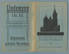 Prospekt Königsberg Der Königsberger Dom und seine Sehenswürdigkeiten Reklame